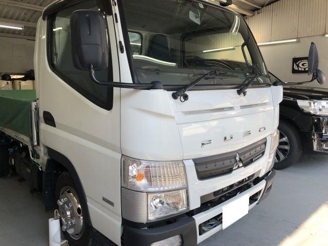 DPF警告灯(DPR・DPDチェックランプ)洗浄 三菱キャンタートラック TKG-FBA20 枚方市より