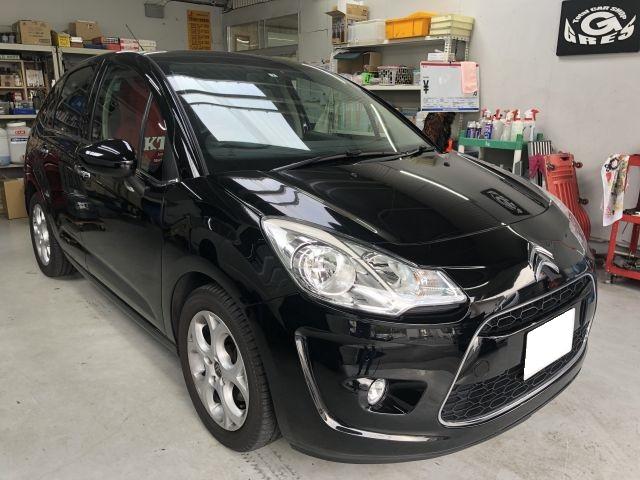 外車・輸入車 ドライブレコーダー持込み取付 シトロエン C3 大阪府枚方市より
