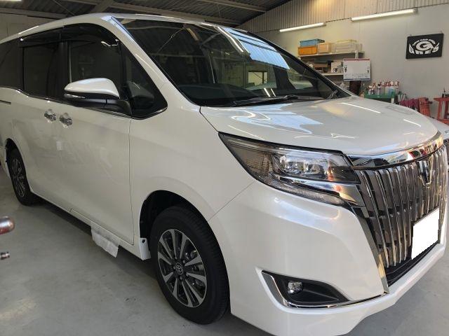 新車 トヨタ エスクァイア カーナビ持込み取付 コミコミカーリース 滋賀県草津市より