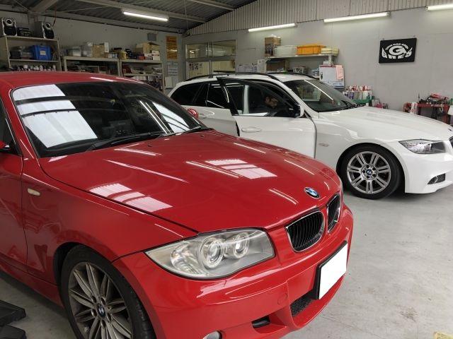 BMW 118i E87系 エンジン不調 警告灯・チェックランプ点灯 点検整備依頼 大阪府八尾市より