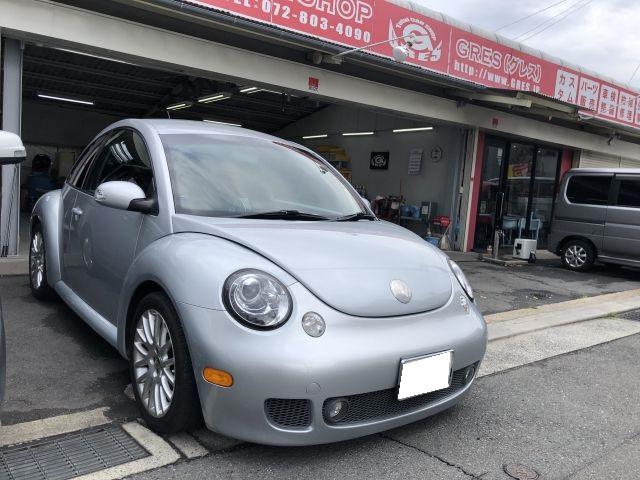 フォルクスワーゲン VW ニュービートル チェックランプ(警告灯)点灯 外車修理 大阪府四條畷市より