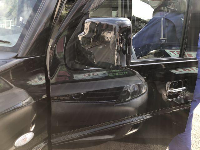 スズキ エブリィワゴン ドアミラー修理 ミラー鏡割れ レンズ交換 大阪府四條畷市より