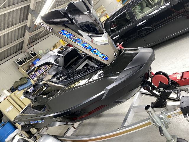 SEADOO ジェットシーズンオフ点検 水上バイク点検・PWC整備 大阪府大東市より