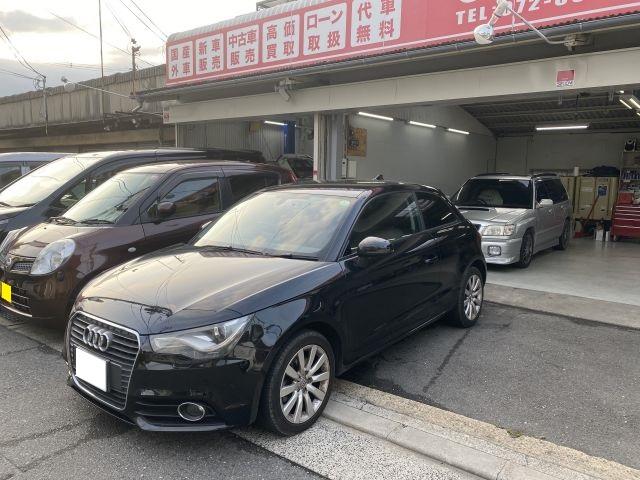 アウディ A1 バックカメラ持込取付 外車・輸入車パーツ取付 大阪府門真市より