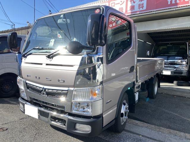 キャンター 2.0tトラック 新古車販売 メッキパーツ取付 トラックカスタム 大阪府大東市より