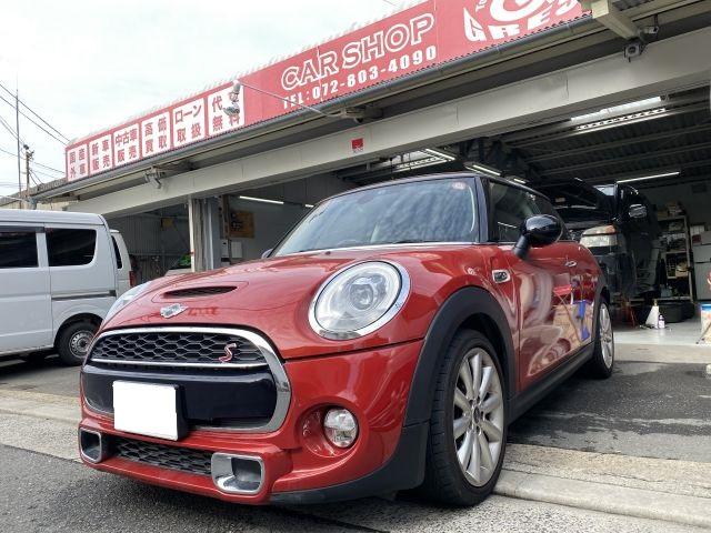 MINI クーパーS DBA-XM20 オイル交換 外車オイル交換 大阪府寝屋川市より