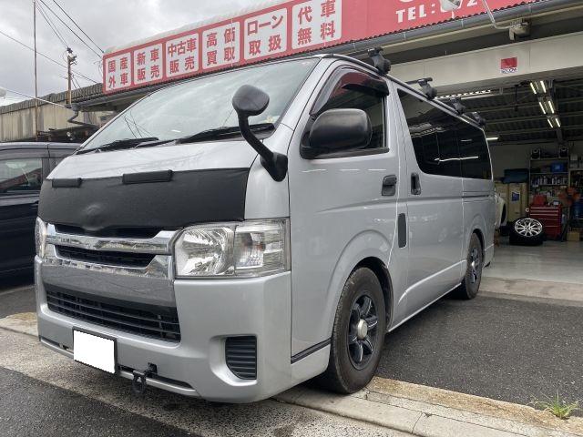 レジアスエースバン QDF-KDH201V スライドドア鈑金塗装修理 大阪市東淀川区より