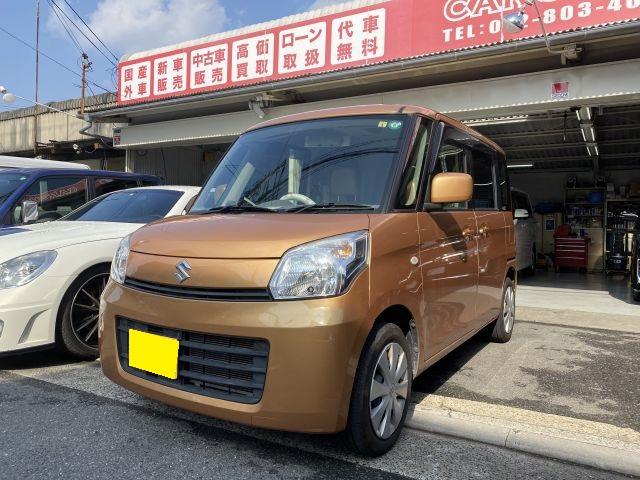 スペーシア MK32S フロント・リア自損事故 鈑金塗装修理 大阪府四條畷市より